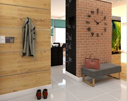 przedpokój w mieszkaniu w kamienicy - zdjęcie od Cubic concept