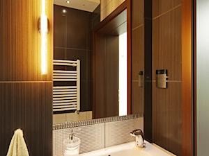 Z CHARAKTEREM 3 - realizacja projektu - Łazienka, styl nowoczesny - zdjęcie od DOMY Z WIZJĄ - nowoczesne projekty domów