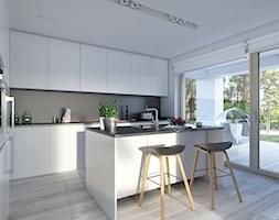 Dostępny 4A - niewielki dom z nowoczesnymi akcentami - zdjęcie od DOMY Z WIZJĄ - nowoczesne projekty domów - Homebook