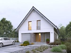 DOSTĘPNY 4A - niewielki dom z nowoczesnymi akcentami