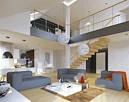 Salon+-+zdj%C4%99cie+od+DOMY+Z+WIZJ%C4%84+-+nowoczesne+projekty+dom%C3%B3w