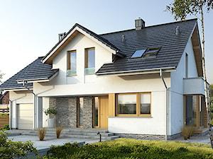 PRAKTYCZNY 3A - niewielki dom z poddaszem użytkowym