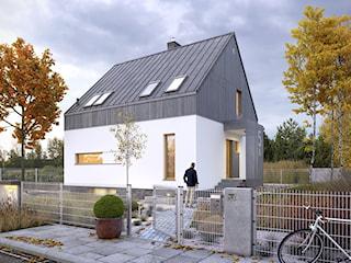 ROZWAŻNY 2 - mały dom z garażem w piwnicy
