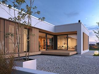 PARTEROWY 1A - obszerny dom parterowy z płaskim dachem
