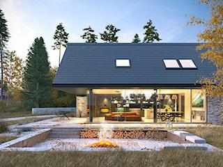ODWAŻNY 1 - nowoczesna stodoła z użytkowym poddaszem