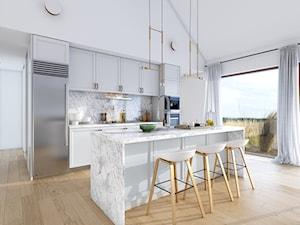 NATURALNY 1A - Domy z wizją - zdjęcie od DOMY Z WIZJĄ - nowoczesne projekty domów