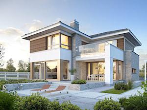 WYJĄTKOWY 3 - nowoczesny dom z pełnym piętrem