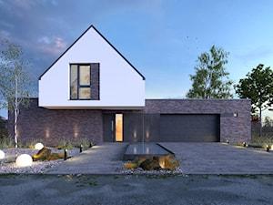 AMBITNY 1 - nowoczesny dom z użytkowym poddaszem