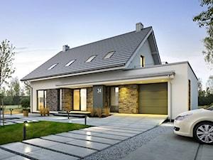ATRAKCYJNY 3A - nowoczesny dom z poddaszem użytkowym