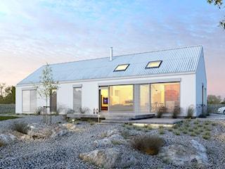 EKONOMICZNY 2 - nowoczesny, mały dom parterowy