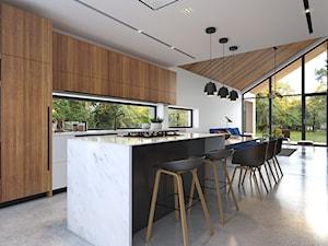 Uniwersalny 1 - tradycyjna forma, współczesne materiały - Kuchnia, styl skandynawski - zdjęcie od DOMY Z WIZJĄ - nowoczesne projekty domów