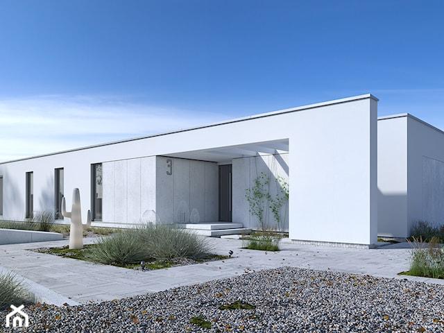 PARTEROWY 3 - dom parterowy z płaskim dachem