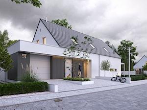 RADOSNY 5 - nowoczesny dom z użytkowym poddaszem