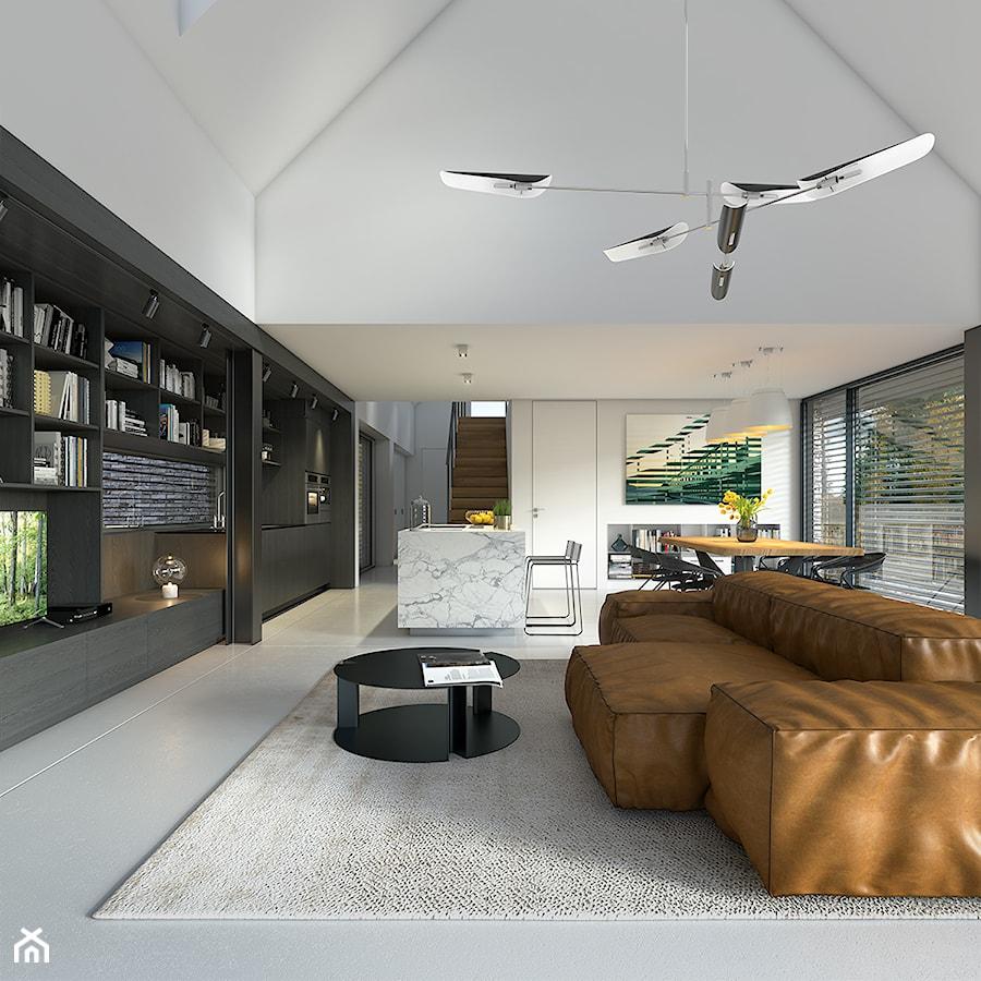 Projekt domu ODWAŻNY 1 - Domy z Wizją - zdjęcie od DOMY Z WIZJĄ - nowoczesne projekty domów