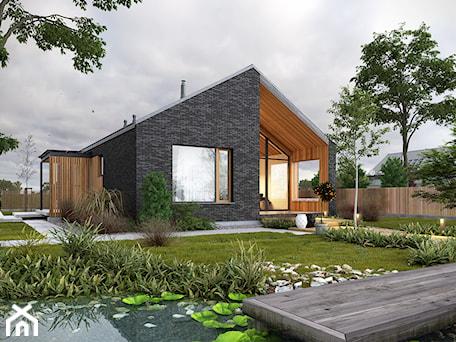 Aranżacje wnętrz - Domy: Uniwersalny 1 - tradycyjna forma, współczesne materiały - Domy, styl nowoczesny - DOMY Z WIZJĄ - nowoczesne projekty domów. Przeglądaj, dodawaj i zapisuj najlepsze zdjęcia, pomysły i inspiracje designerskie. W bazie mamy już prawie milion fotografii!