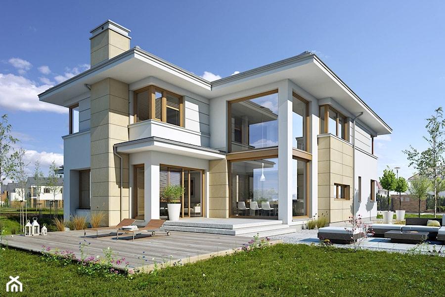 z klas 3 nowoczesna pi trowa rezydencja du e jednopi trowe nowoczesne domy jednorodzinne. Black Bedroom Furniture Sets. Home Design Ideas