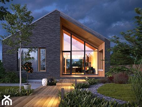 Aranżacje wnętrz - Domy: Uniwersalny 1 - tradycyjna forma, współczesne materiały - Domy, styl minimalistyczny - DOMY Z WIZJĄ - nowoczesne projekty domów. Przeglądaj, dodawaj i zapisuj najlepsze zdjęcia, pomysły i inspiracje designerskie. W bazie mamy już prawie milion fotografii!