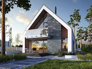 IDEALNY 3 - wygodny dom w typie nowoczesnej stodoły