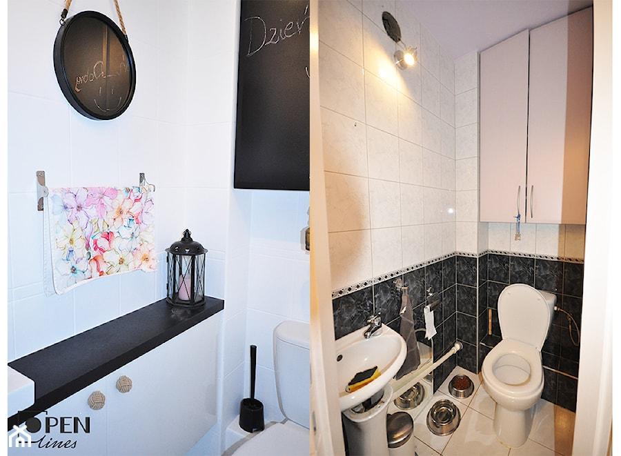 Remont Wc Za 800zł W Weekend Mała łazienka Zdjęcie Od