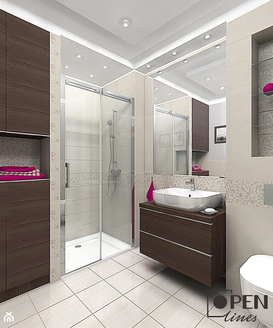 łazienka Z Dodatkiem Fuksji Zdjęcie Od Openlines Homebook