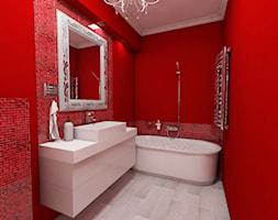 Czarno Czerwona łazienka Pomysły Inspiracje Z Homebook