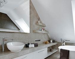 Dom na Podhalu - Łazienka, styl nowoczesny - zdjęcie od Intellio designers projekty wnętrz - Homebook