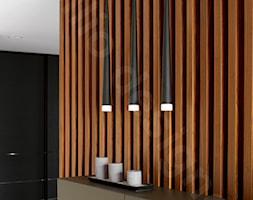 Dom na Podhalu - Mały czarny hol / przedpokój, styl nowojorski - zdjęcie od Intellio designers projekty wnętrz - Homebook