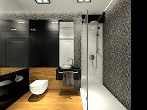 Mała łazienka gościnna - zdjęcie od MKdezere