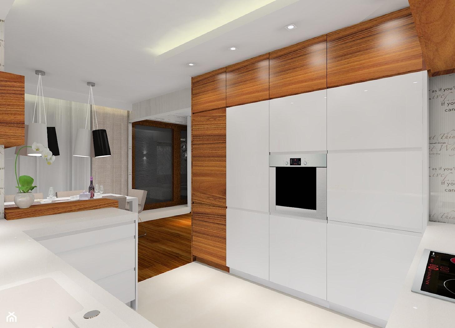 Przytulne mieszkanie - Kuchnia, styl nowoczesny - zdjęcie od MKdezere - Homebook