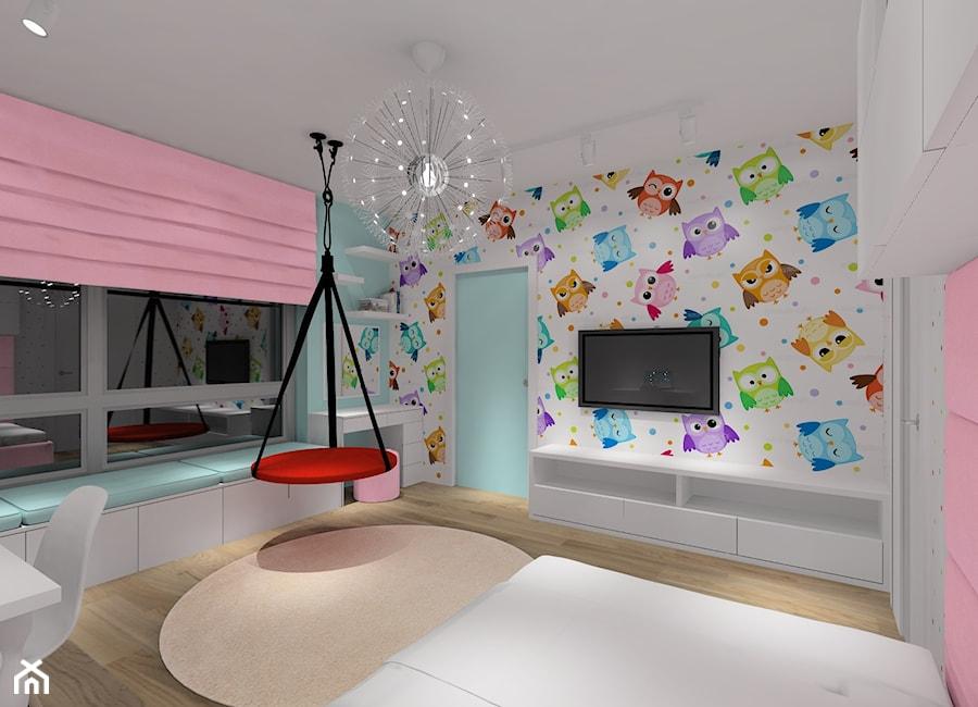 Projekt pokoju dla dziewczynki. - zdjęcie od MKdezere