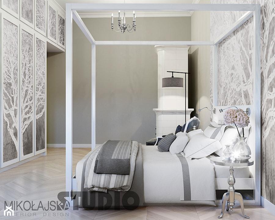 łóżko Z Baldachimem Projekt Zdjęcie Od Mikołajskastudio