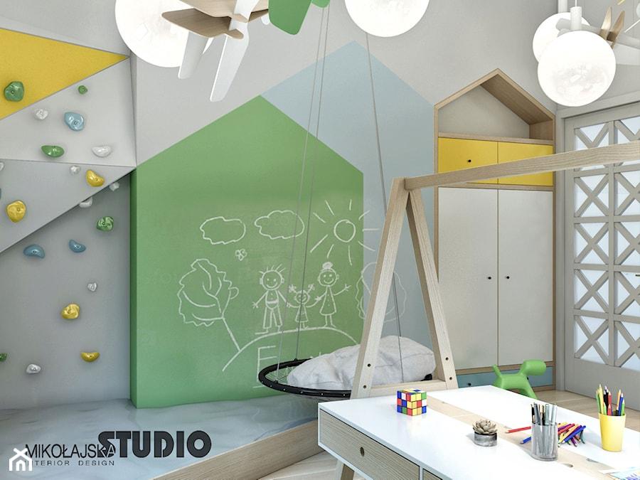 plac zabaw w pokoju dziecka - zdjęcie od MIKOŁAJSKAstudio