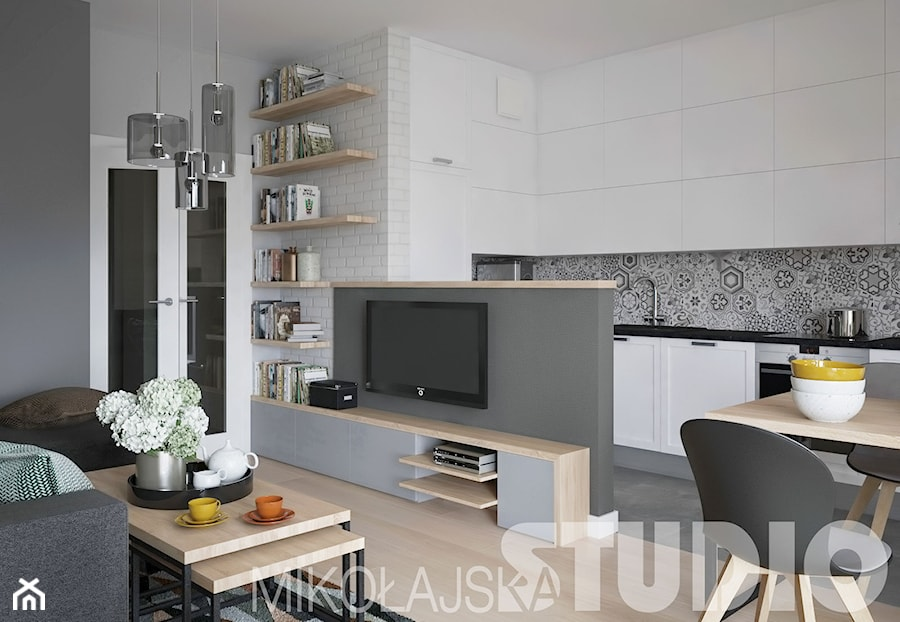 loft style apartment zdj cie od miko ajskastudio homebook. Black Bedroom Furniture Sets. Home Design Ideas