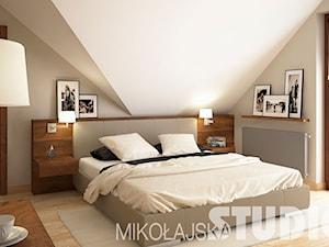 Tradycyjna sypialnia - zdjęcie od MIKOŁAJSKAstudio