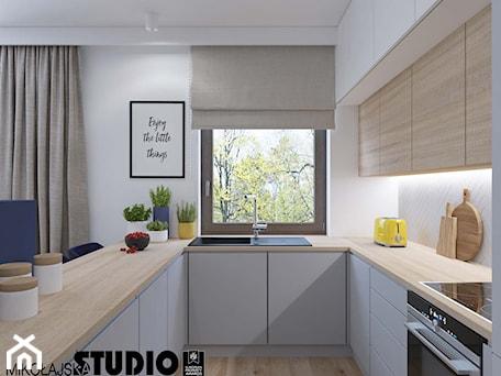Aranżacje wnętrz - Kuchnia: beżowa kuchnia - MIKOŁAJSKAstudio. Przeglądaj, dodawaj i zapisuj najlepsze zdjęcia, pomysły i inspiracje designerskie. W bazie mamy już prawie milion fotografii!