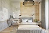 sypialnia w barwach natury - zdjęcie od MIKOŁAJSKAstudio - Homebook