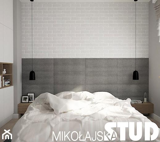 Minimalistyczna Sypialnia Zdjęcie Od Mikołajskastudio