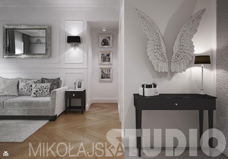 salon w stylu glamour - projekt wnętrz - zdjęcie od MIKOŁAJSKAstudio - Homebook