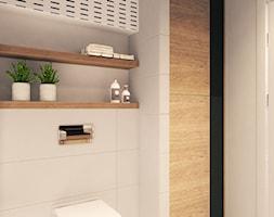 prosta stylowa łazienka - zdjęcie od MIKOŁAJSKAstudio