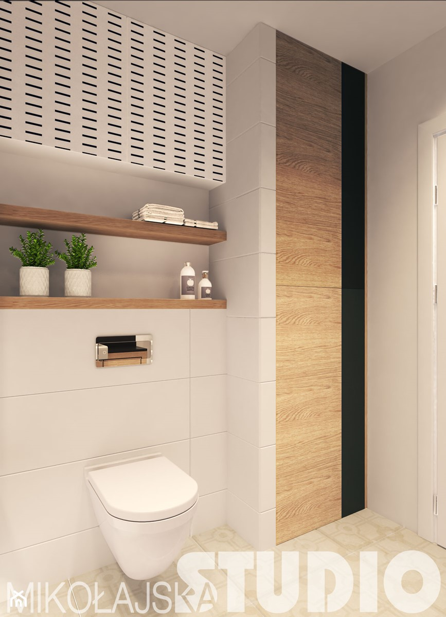 Prosta Stylowa łazienka Zdjęcie Od Mikołajskastudio Homebook