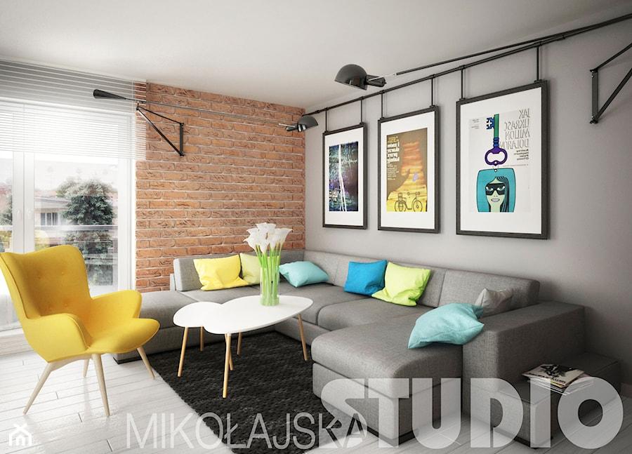 kontrastowe wnętrze - zdjęcie od MIKOŁAJSKAstudio