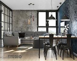 salon w stylu loft - zdjęcie od MIKOŁAJSKAstudio