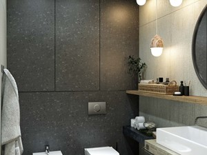 projekt łazienki elegancki design - zdjęcie od MIKOŁAJSKAstudio