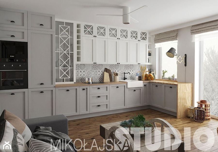 kuchnia projekty zdjęcie od miko�ajskastudio homebook