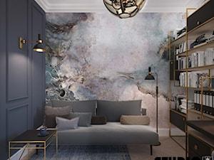 Gabinet z tapetą - zdjęcie od MIKOŁAJSKAstudio