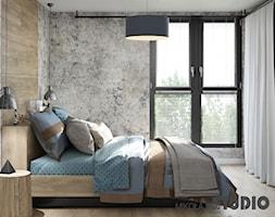 sypialnia w stylu loft - zdjęcie od MIKOŁAJSKAstudio