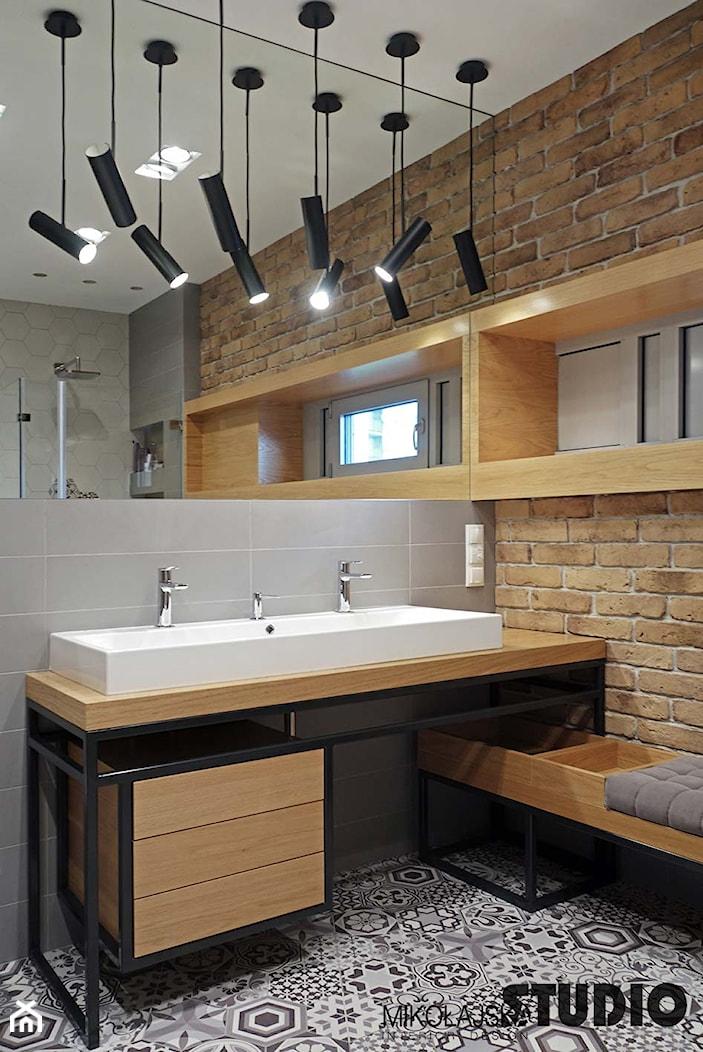 łazienka loftowa - zdjęcie od MIKOŁAJSKAstudio - Homebook