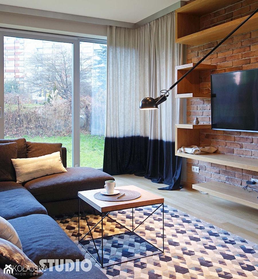 salon-wygodny, przytulny i nowoczesny - zdjęcie od MIKOŁAJSKAstudio