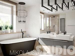 łazienka skandynawska - zdjęcie od MIKOŁAJSKAstudio