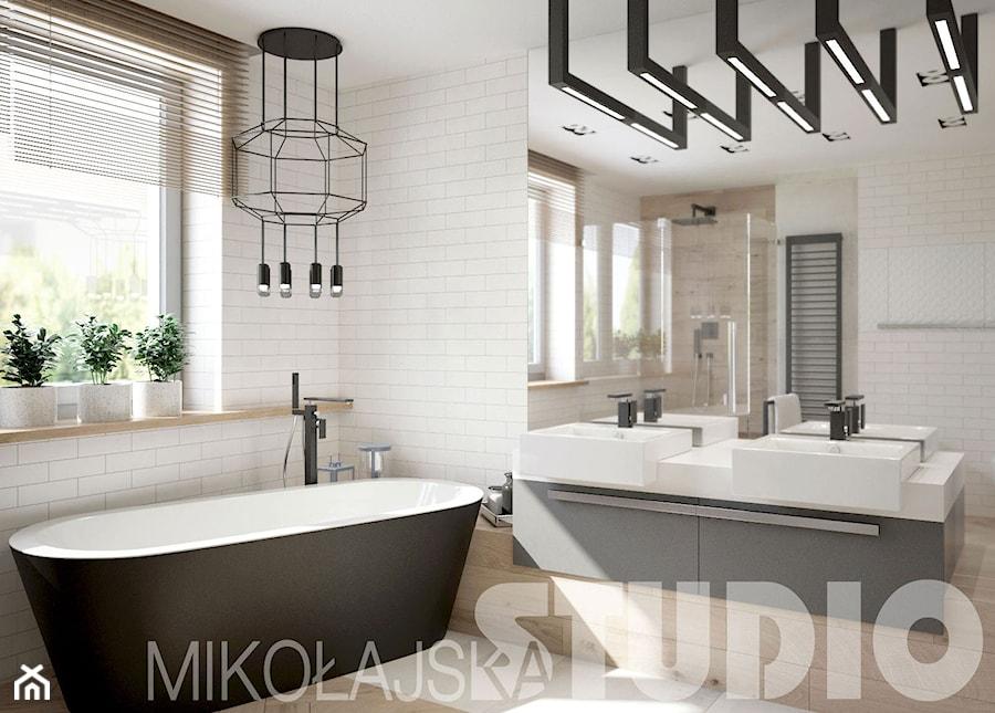łazienka skandynawska - zdjęcie od MIKOŁAJSKAstudio - homebook